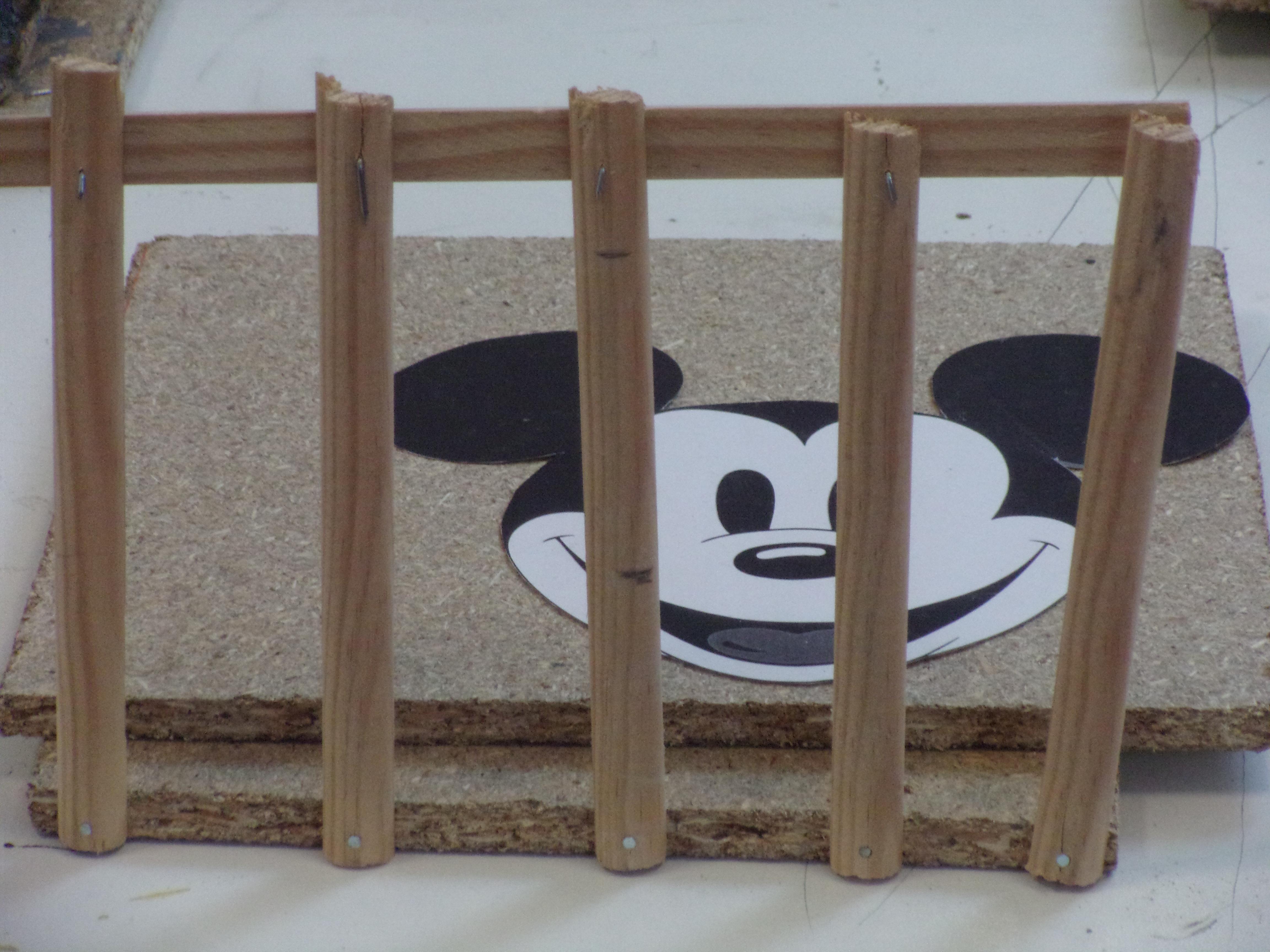 Mickey en prison