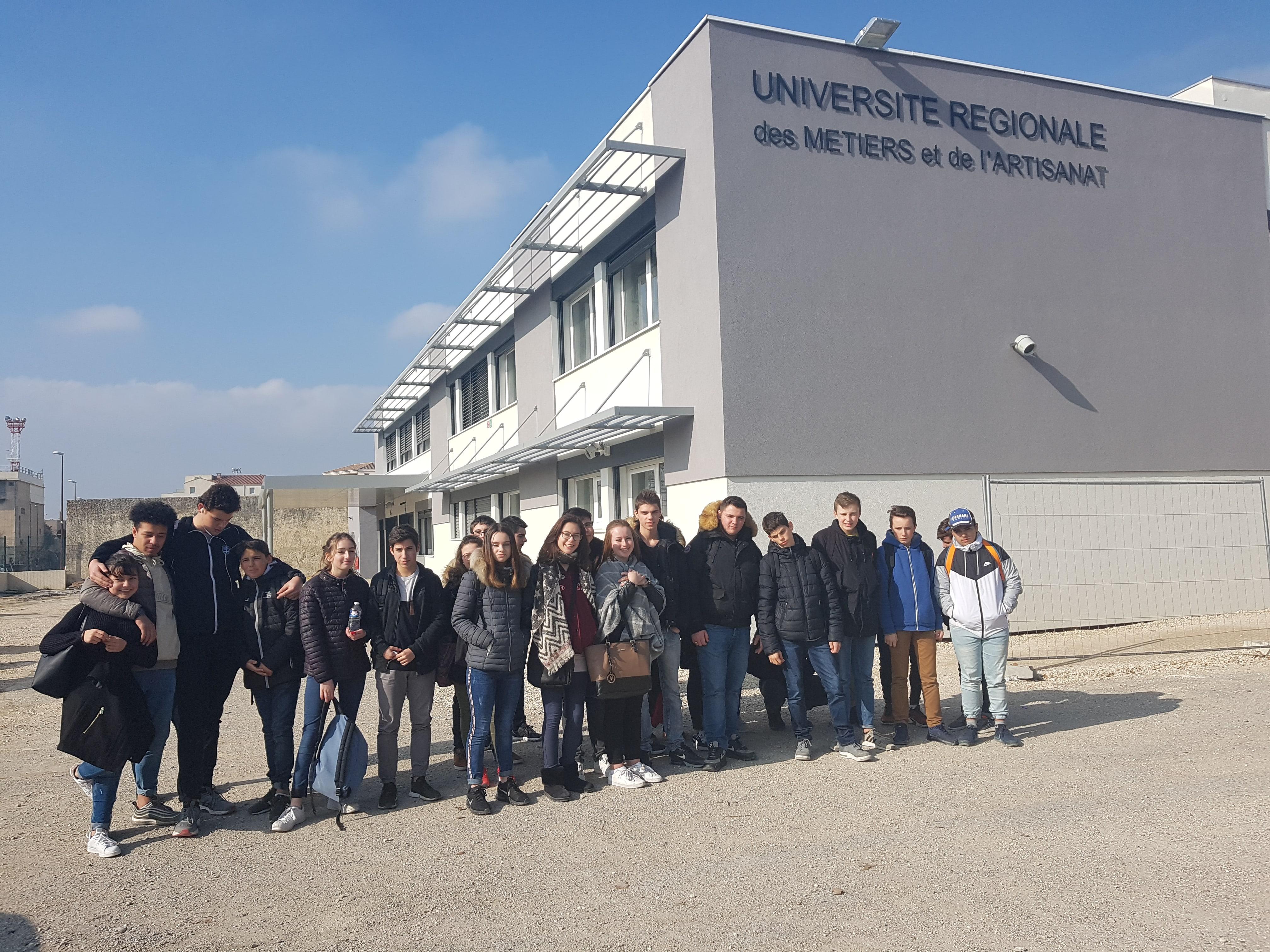 Sortie au CFA Régional Campus d'Avignon