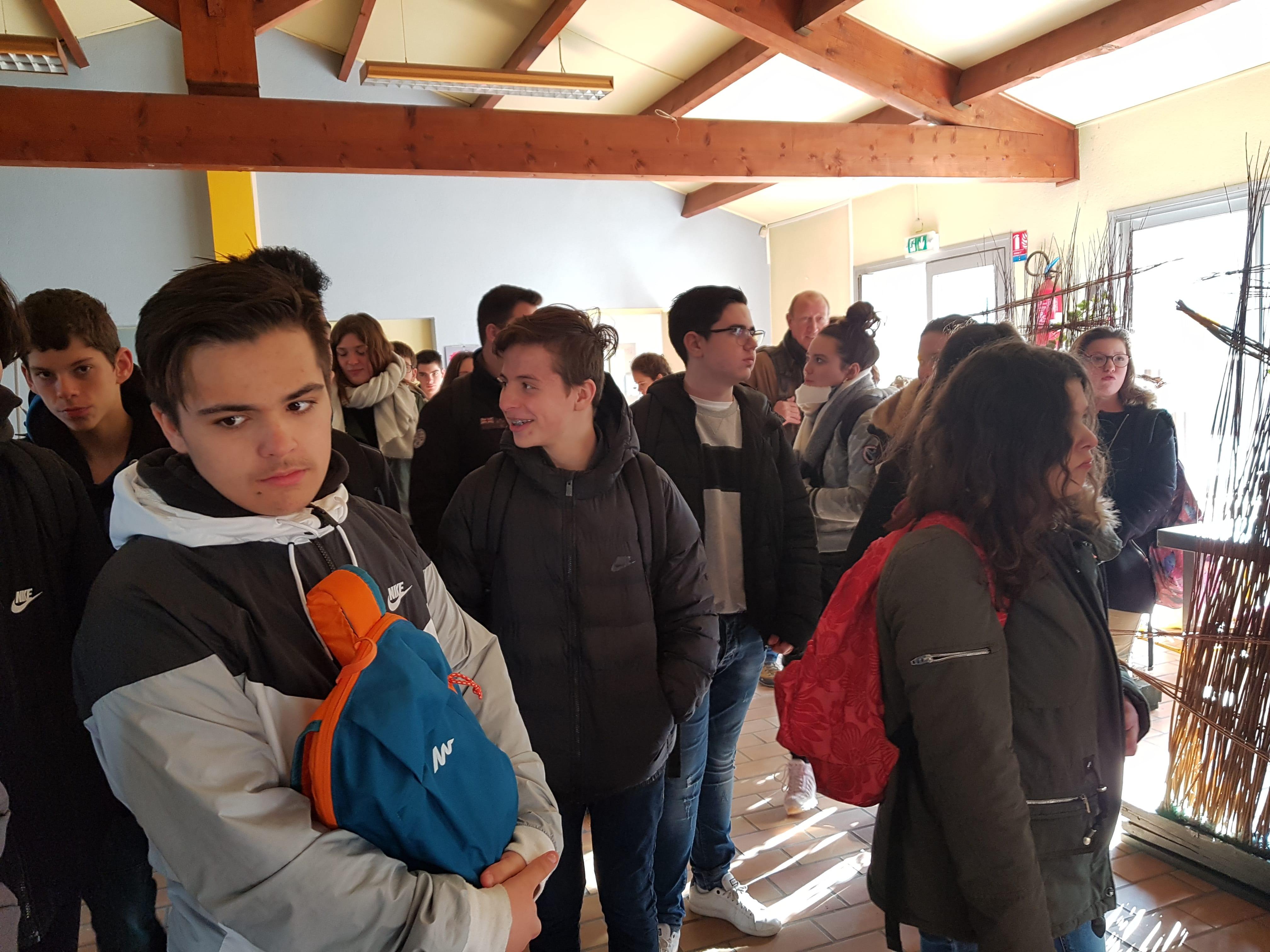 Sortie à la MFR et Lycée professionnel les Chênes