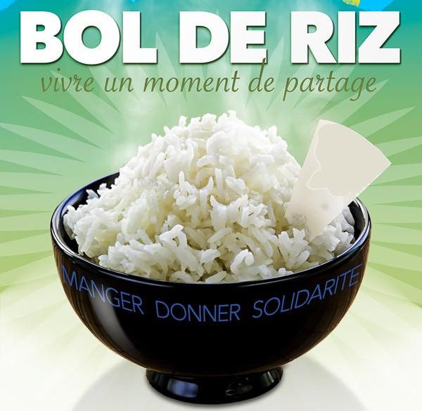 Affiche bol de riz