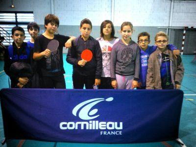 Première compétition de tennis de table UNSS de l'année