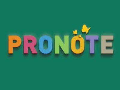 Solution au problème Pronote