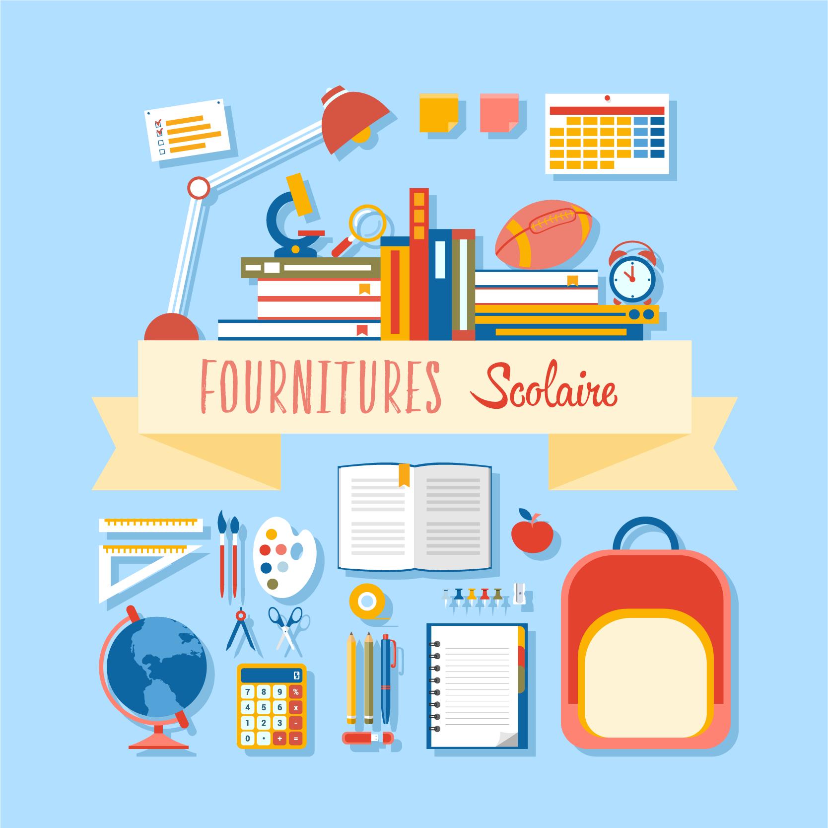 Fournitures Scolaire 2017-2018