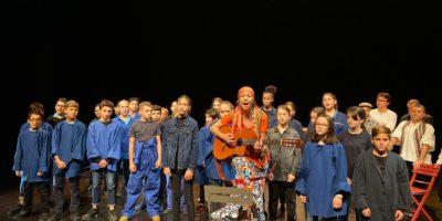 La première représentation de la comédie musicale Germinal couronnée de succès !