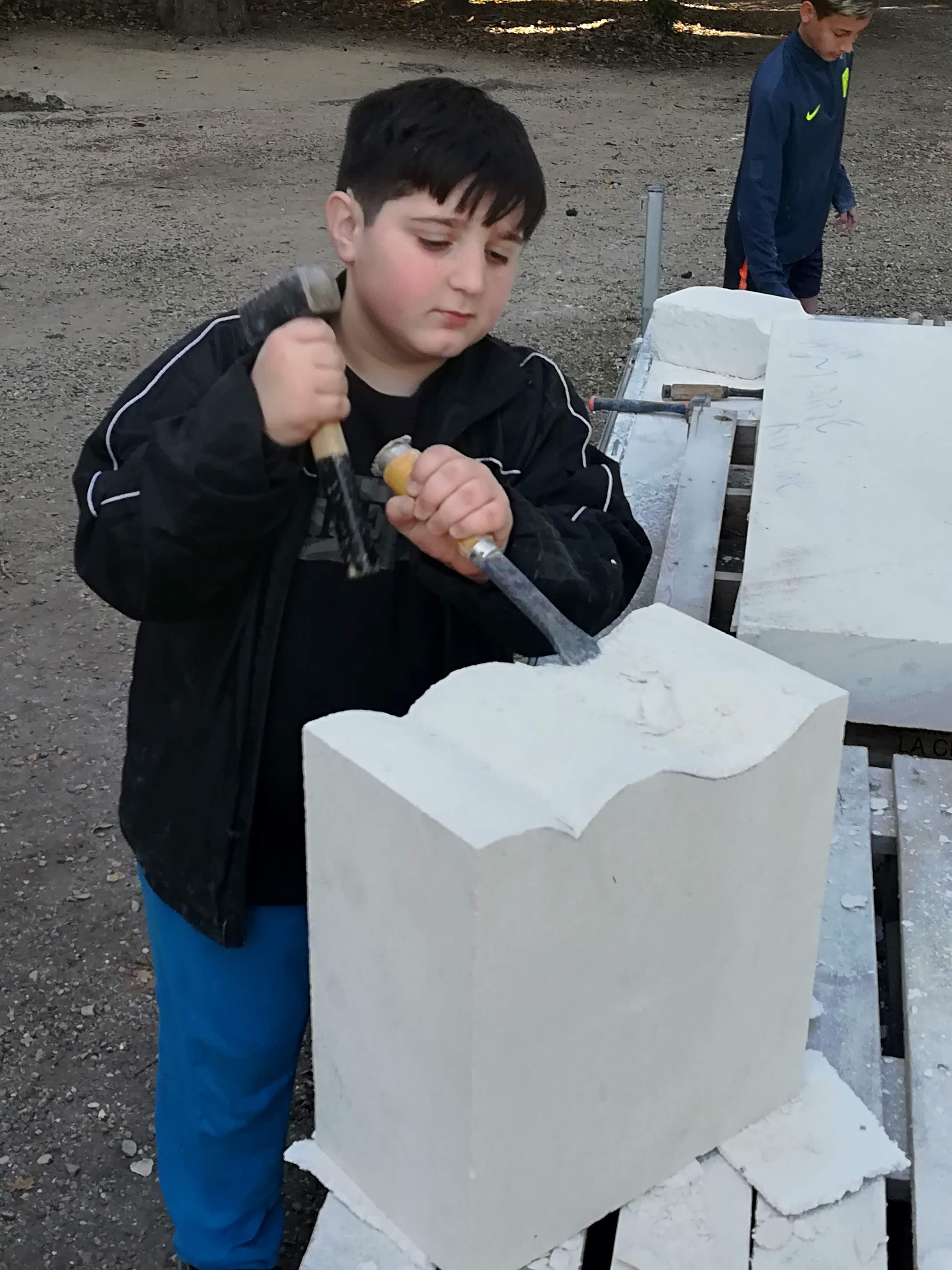 Projet taille de pierre