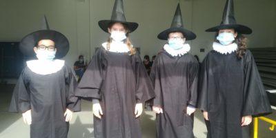 élèves/médecins de la classe de 5ème C