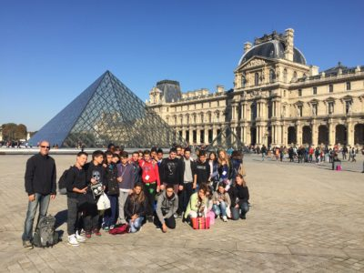 Paris avec les élèves de 3ème et 4ème SEGPA