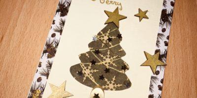 Atelier création «cartes de Noël» !