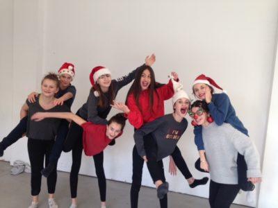 Dernier cours de l'AS Danse pour l'année 2017