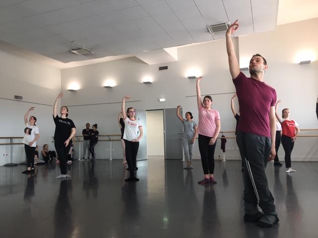 AS Danse : Partenariat avec la Compagnie Julien Lestel