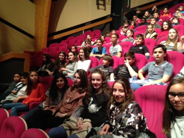 Sortie 6C et élèves de l'AS Danse