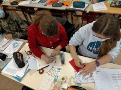 Des cartes de vœux écrites en latin par les élèves de 5ème