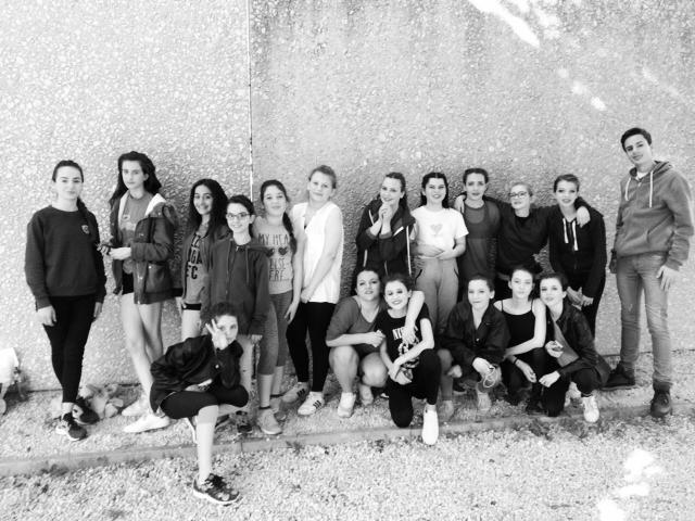 UNSS de danse à Montfavet