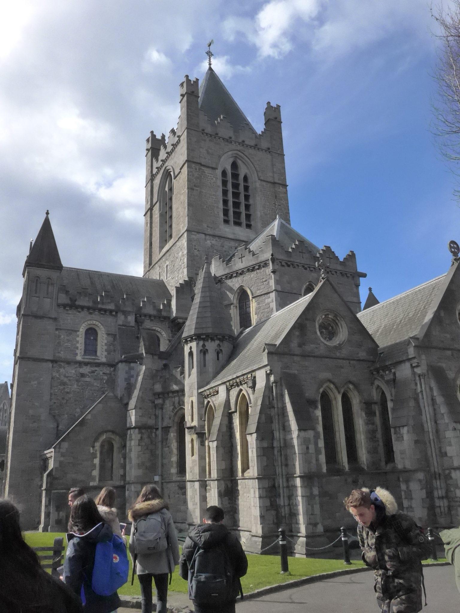 Guiness Storehouse, château et Cathédrale de Dublin