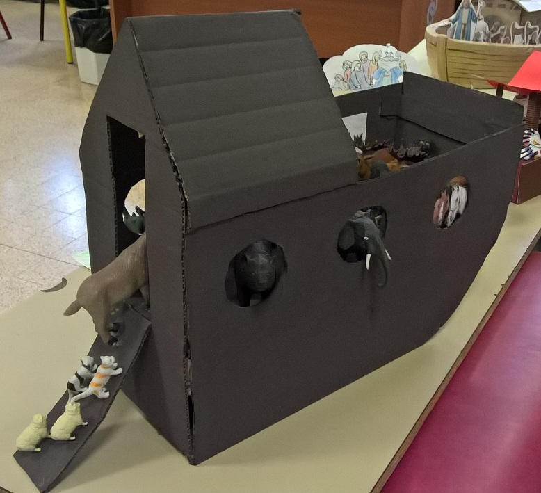 Maquette Arche de Noe