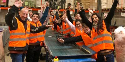 Action de solidarité à la banque alimentaire du Vaucluse